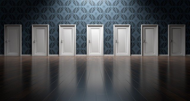 the unseen door