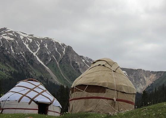 Kyrgyzstan yurts
