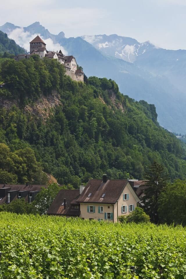 Where Is Liechtenstein -- Alpine beauty